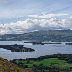Loch Lomond, gezien vanaf Connick hill
