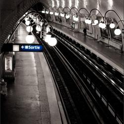 Metrostation La Cité, in Parijs