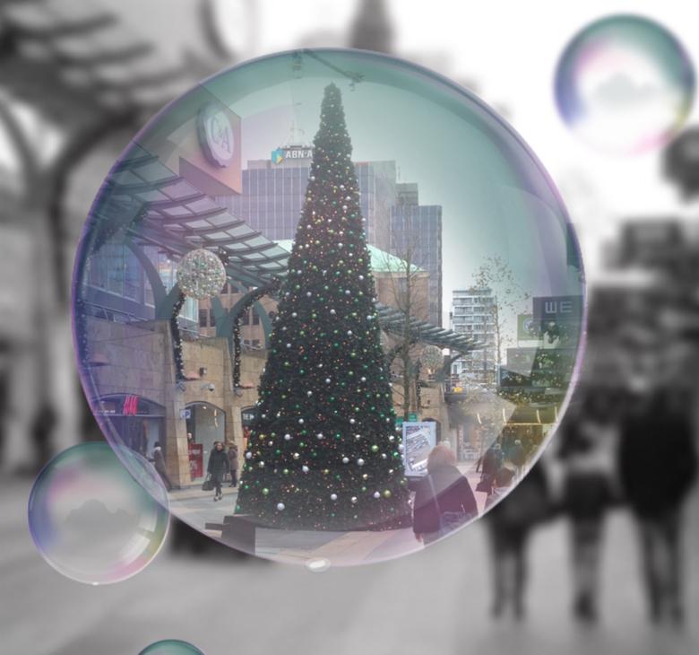 Rotterdam in kerstsfeer -