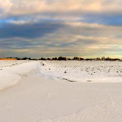 Pijnacker sneeuw panorama