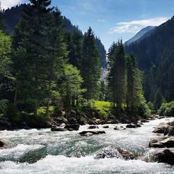Rivier Krimler wasserfalle Oostenrijk