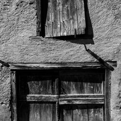 Deur  in huis in Cassagnabere - Tournas