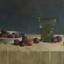 Een schilderij die ik maakte naar idee van Henk helmantel