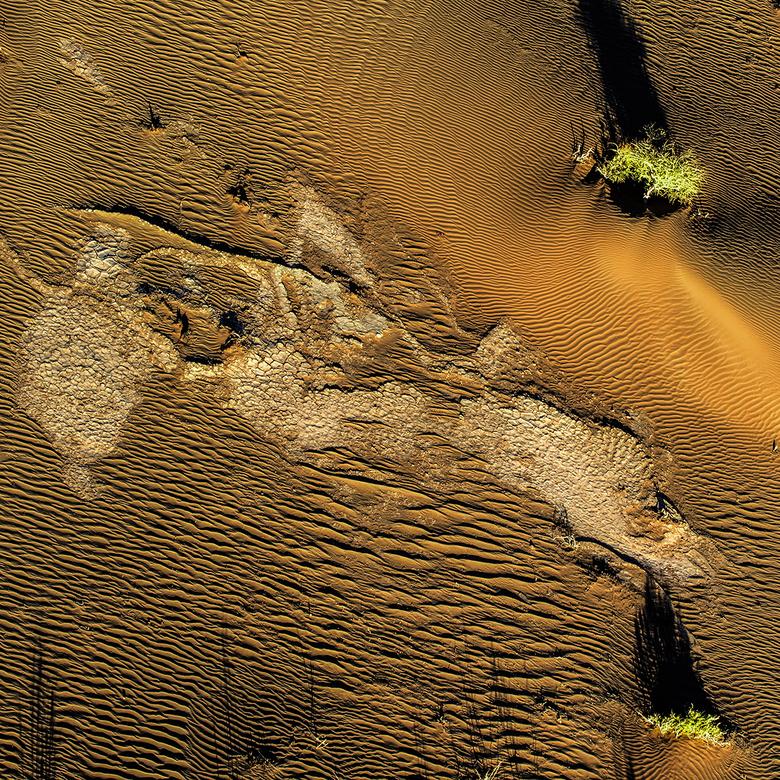 Woestijn Sossusvallei vanuit een luchtballon. - Foto is genomen door mijzelf vanuit een luchtballon die over de Sossusvallei vloog..heb me laten verte