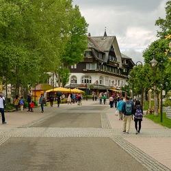 Boulevard langs deTitisee.