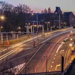 Ingang Hubertus tunnel, Den Haag