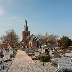 Het kerkje van Kortenhoef.