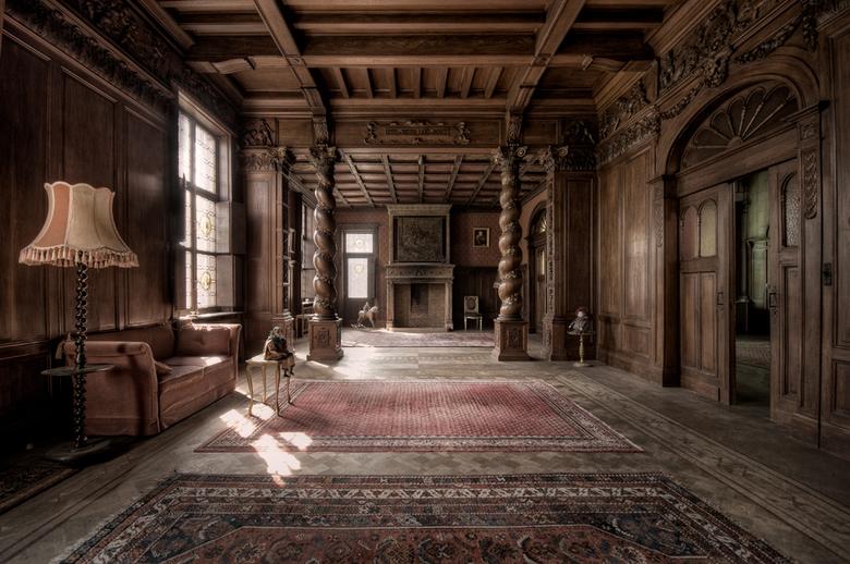 The Mansion 1 - Eén van de mooiste locaties die ik ooit bezocht heb. Zodra je hier binnen stapt, ga je terug in de tijd.