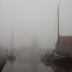 Meppel in de mist