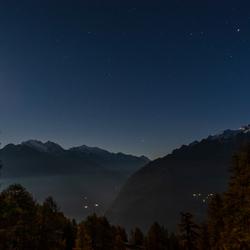 Herst avond in Zwitserland