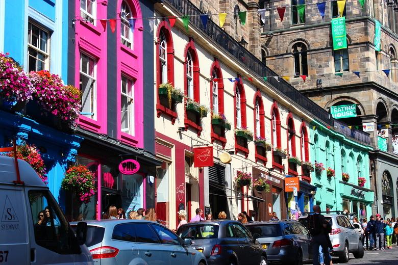 kleurrijk - Festival in Edinburgh