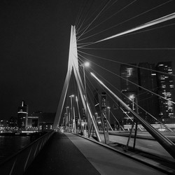 Erasmus brug by night