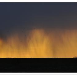 Spektakel: De zon gaat onder langs het Lauwersmeer - 3#4