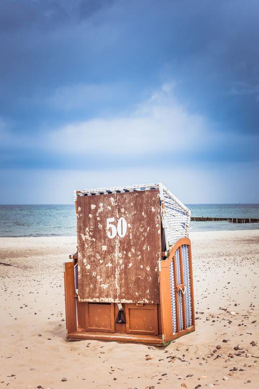Strandkorb 50 - een van de vele strandstoelen op Rugen