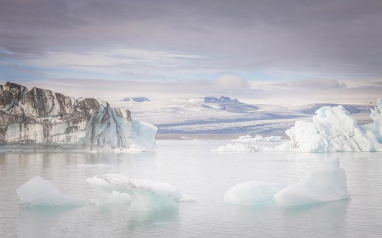 Gletsjer ijs