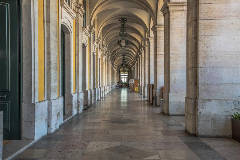 Praça do Comércio Lissabon   -