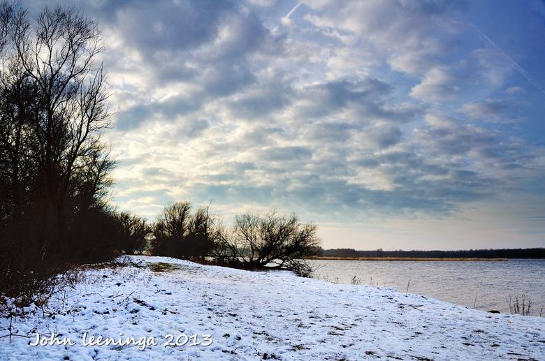 Winterwereld Twiske - Winterlandschap gefotografeerd in het Twiske