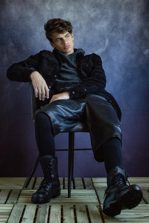 Bram - Cover-Boy Portrait with the amazing Bram