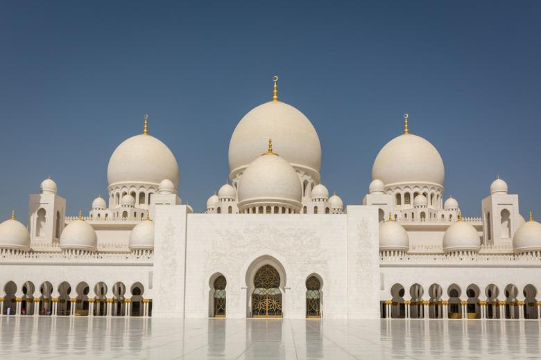 sjeik zayed moskee in abu dhabi -