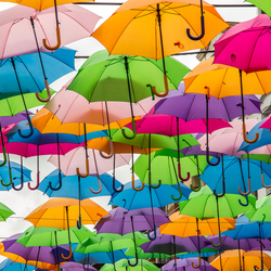 Het regent in Frankrijk