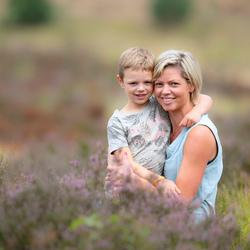 moeder & zoon