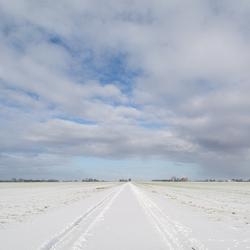 Rust en ruimte in een Oldambtster polder.jpg