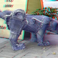 Hond Coolsingel Rotterdam 3D
