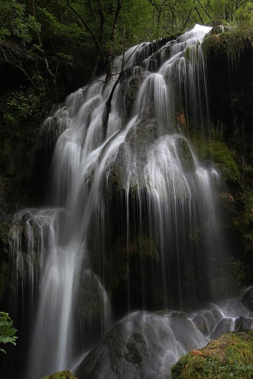 waterval in de Jura
