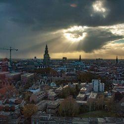 Skyline van Groningen