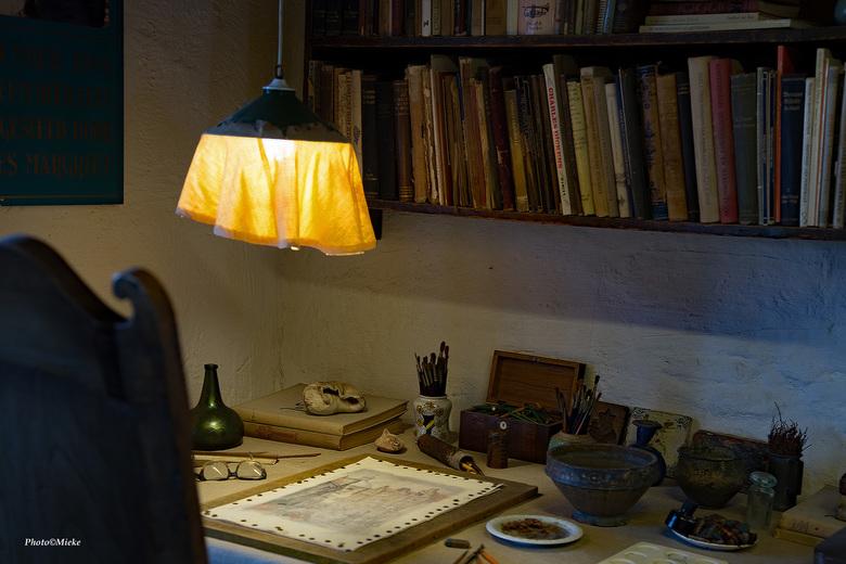 """Werkruimte - Hier ontstonden de prachtige creaties van Anton Pieck<br /> <br /> Bedankt voor jullie reacties op <a href=""""https://zoom.nl/foto/dieren"""