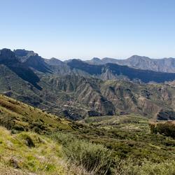 Gran Canaria 2 - landschap rond Roque Nublo en Roque Bentayga