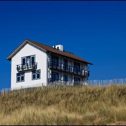 Huis op het duin