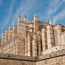 Kathedraal La Seu onbewerkt