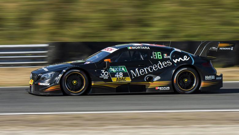 Edoardo Mortara - Een opname uit 2018 op het circuit van Zandvoort ... Toen reden ze nog met Audi, BMW en Mercedes. In 2019 reden er alleen nog Audi&#