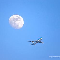 Flight from the moon