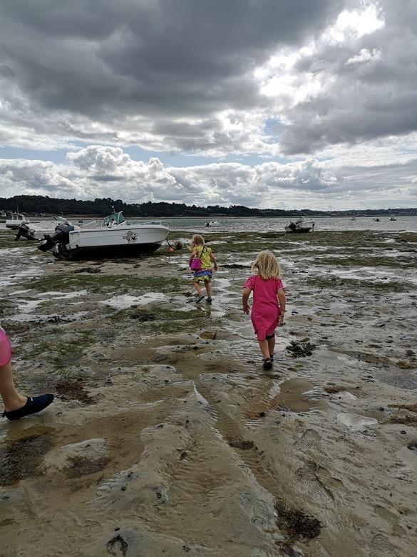 De magie van Eb en vloed - Mijn meisjes in het prachtige Bretagne
