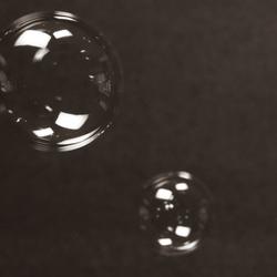 Spelen met bellenblaas