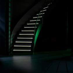 Stair in the light