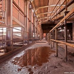 Verlaten oude staalfabriek (1)