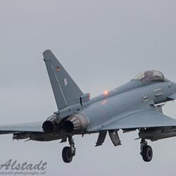 GAF Eurofighter landing