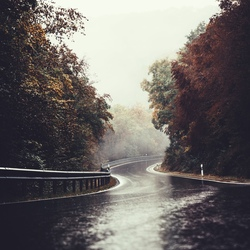 The winding road.