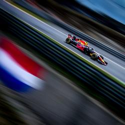 Max Verstappen tijdens de formule 1 grand prix van belgie in Spa Francorchamps