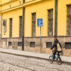 Parking place.