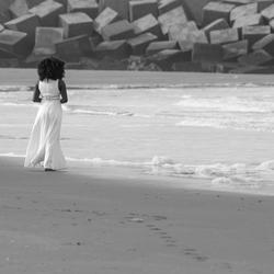 Black in white in black and white