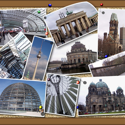 Prikbord Berlijn