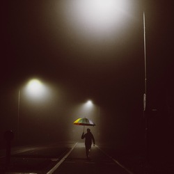Walking into darkness