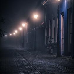 Dickens straatje in Wijk bij Duurstede