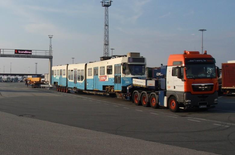 Xtra lang - Met de tram of toch maar met de boot.<br /> Rostock ( D ) - Trelleborgh ( S )
