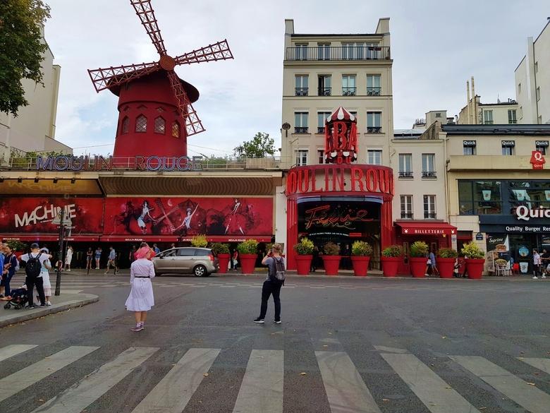Rode molen - Moulin Rouge, Parijs, Frankrijk