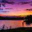 puesta de sol en Laias